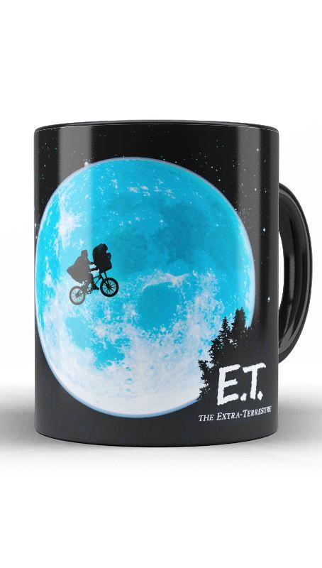 Caneca ET. O Extraterrestre - Nerd e Geek - Presentes Criativos