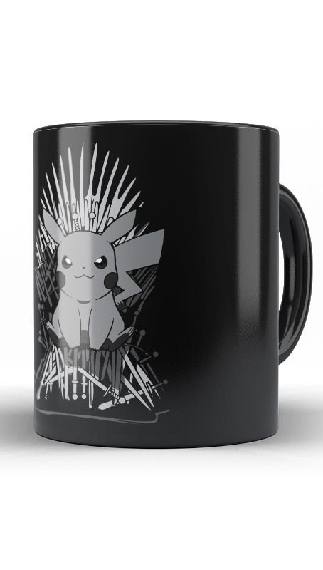 Caneca Anime Pokemon Thrones - Nerd e Geek - Presentes Criativos