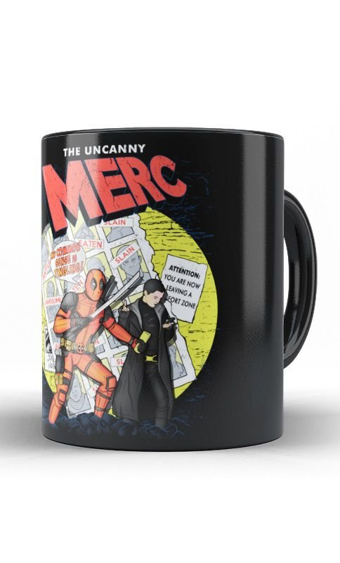 Caneca Deadpool Merc