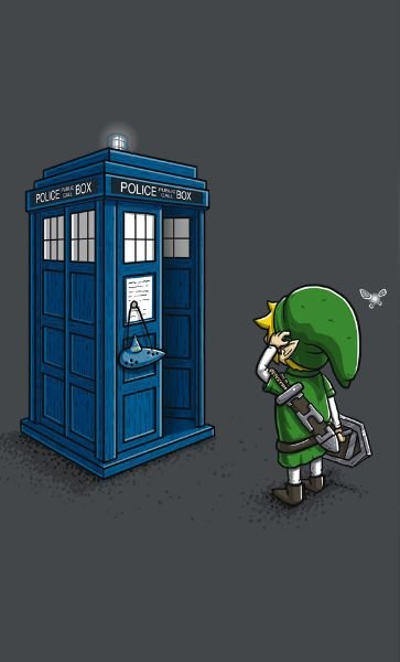 Camiseta  Doctor Who Link