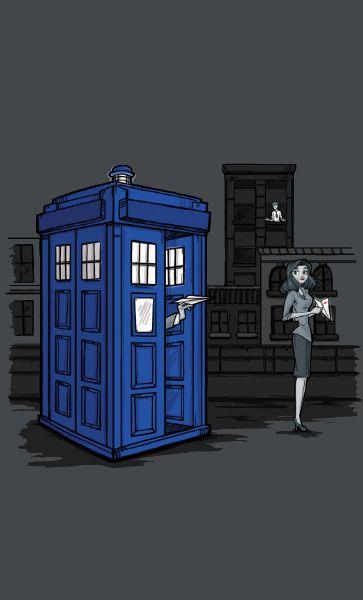 Camiseta Doctor Who Paperman