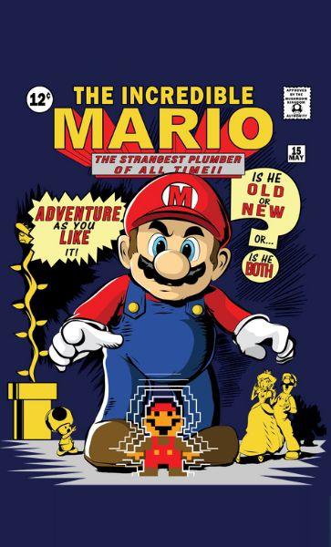 Camiseta The Incredible Mario