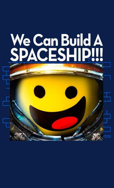 Camiseta  LEGO Minifigure Spaceship