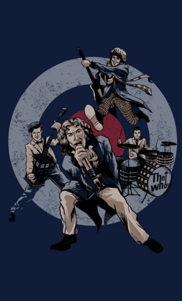 Camiseta Doctor Who The Whos