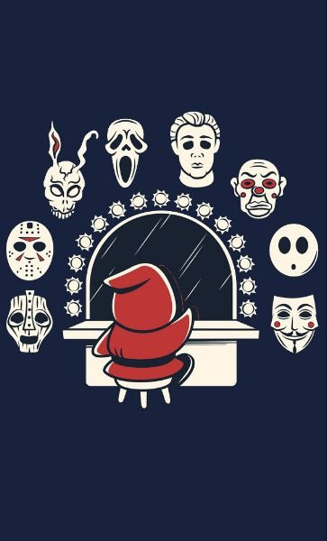 Camiseta  Donnie Darko Decisions