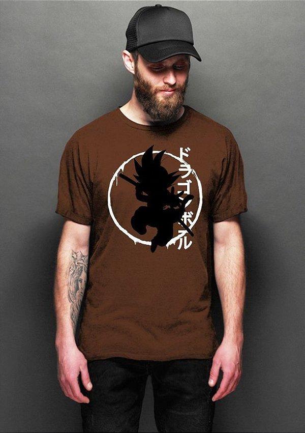 Camiseta Masculina  Dragon Ball - Nerd e Geek - Presentes Criativos