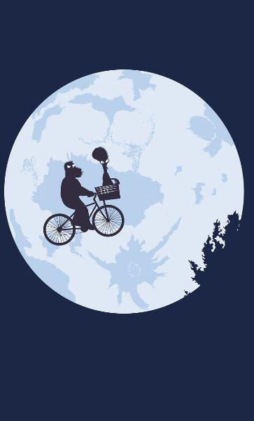 Camiseta  E.T go home Roger