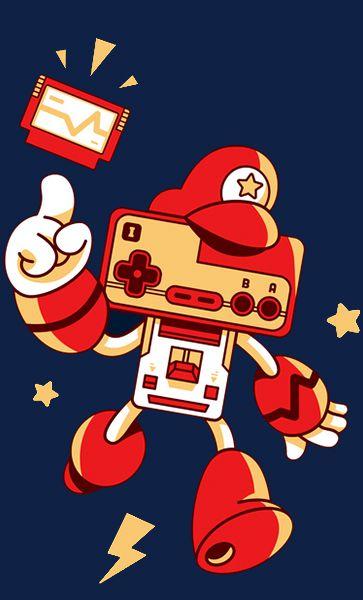 Camiseta Super Mario Nintendo