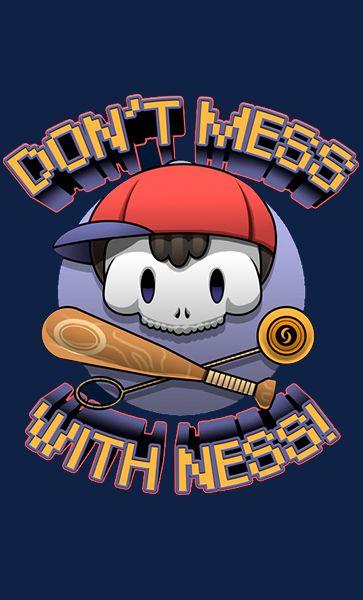 Camiseta With Ness