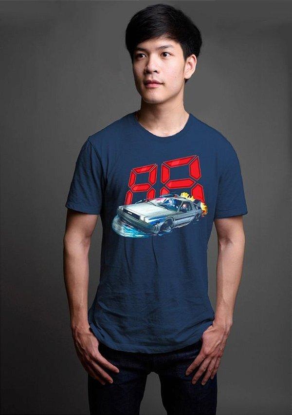 Camiseta Masculina  De Volta pro Futuro 88 - Nerd e Geek - Presentes Criativos