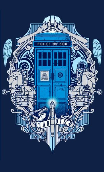 Camiseta Doctor Who Police