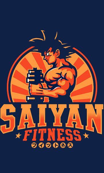 Camiseta Saiyan Fitness
