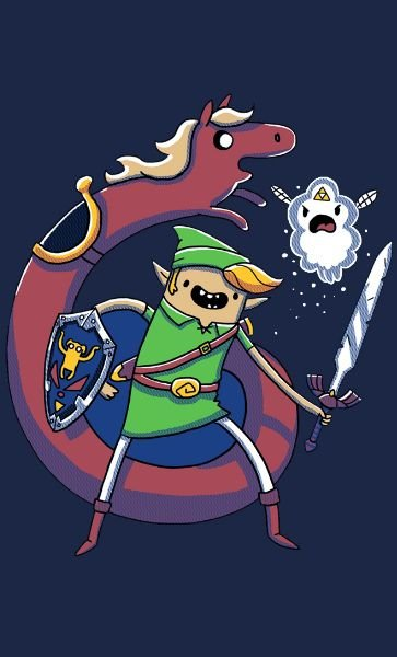 Camiseta The Legend Ocarina of Time