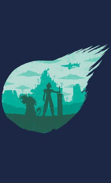 Camiseta  Final Fantasy Valley