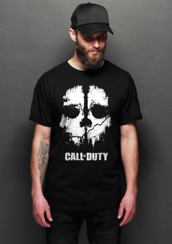 Camiseta Masculina  Call of Duty - Nerd e Geek - Presentes Criativos