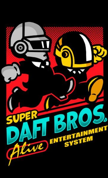 Camiseta Super Daft Bros