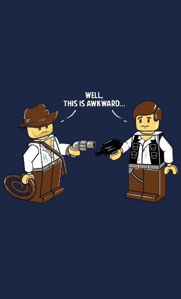 Camiseta  Star Wars Lego Han Solo