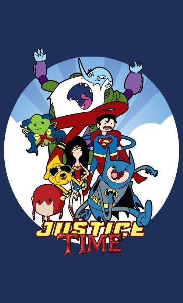 Camiseta Justice Time