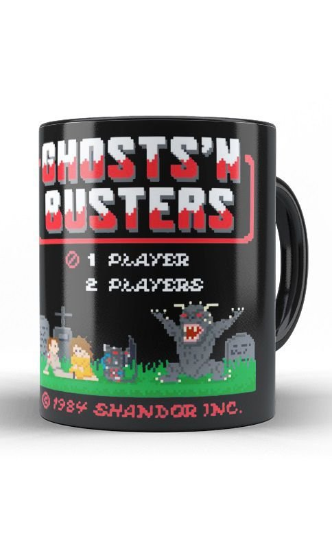 Caneca Ghosts's n Busters 1984