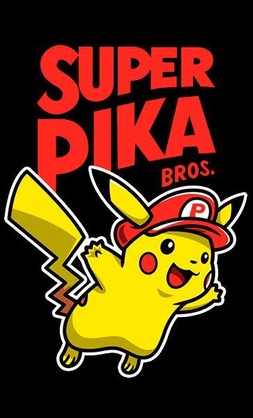 Camiseta Pikachu - Super Pika
