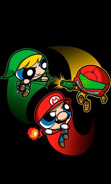 Camiseta Meninas Super Mario