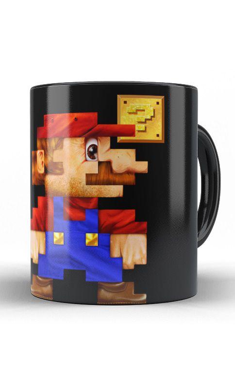 Caneca Super Mario Bros