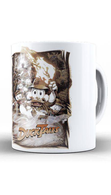 Caneca DuckTales - Os Caçadores de Aventuras