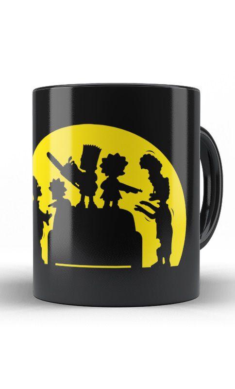 Caneca Simpsons Zombie