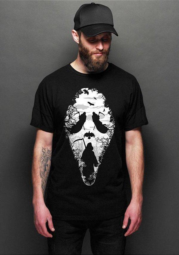 Camiseta Masculina   Death - Nerd e Geek - Presentes Criativos