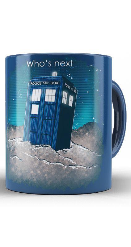 Caneca Doctor Who's Next