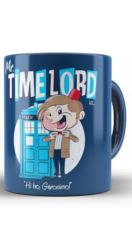 Caneca  Mr. Time Lord Doctor Who