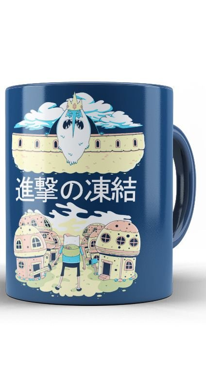 Caneca Adventure Time Attack on Titan