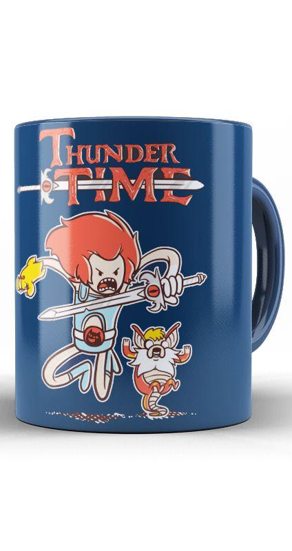 Caneca  Adventure Time - Thunder Time