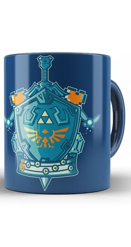 CanecaThe Legend of Zelda Master Sword NT