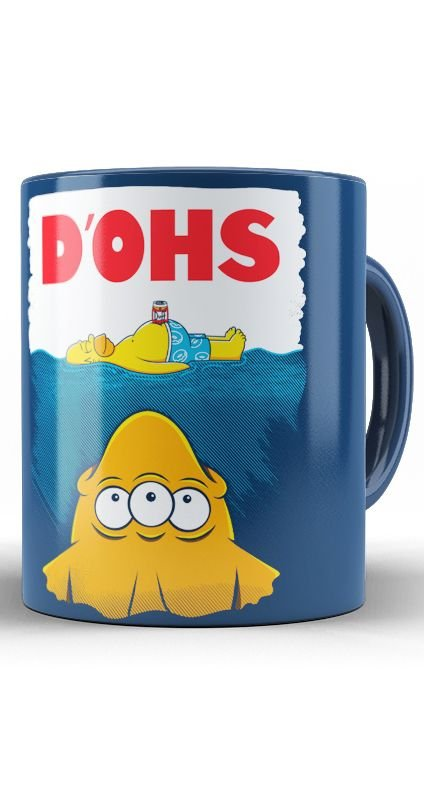 Caneca Simpsons D'ohs
