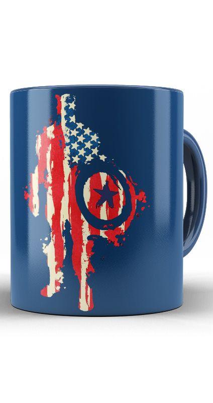 Caneca American flag