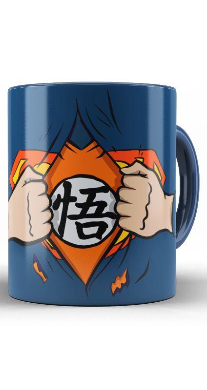 Caneca Superman Goku