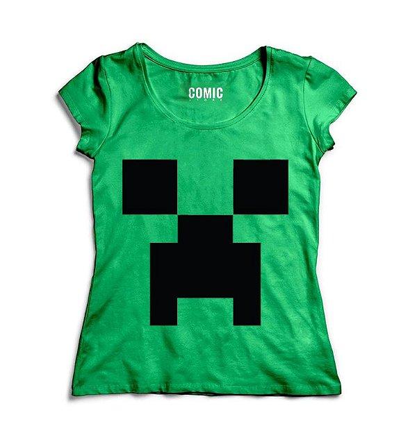 7ad89da533 Camiseta Feminina Minecraft - Nerd e Geek - Presentes Criativos ...