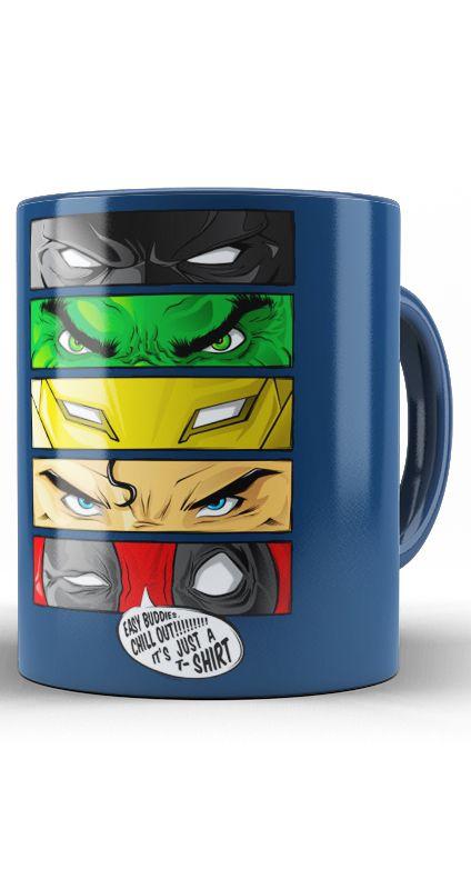 Caneca Super Herois