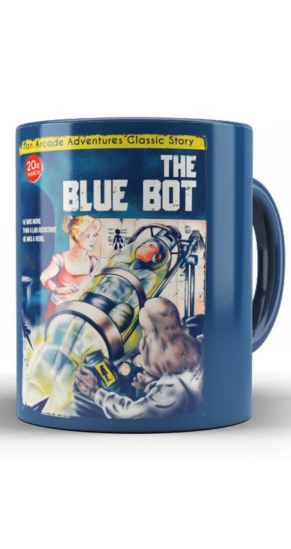 Caneca The Blue Bot
