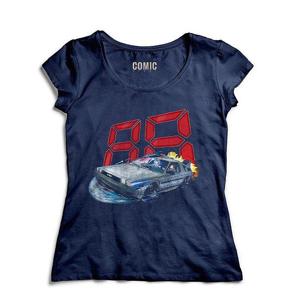 Camiseta Feminina  De Volta Para o Futuro 88