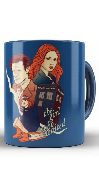 Caneca Police Doctor Who
