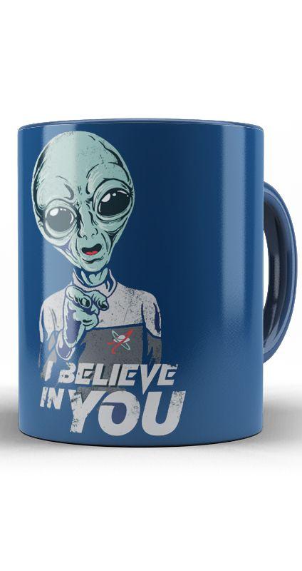 Caneca Alien - I Believe In You
