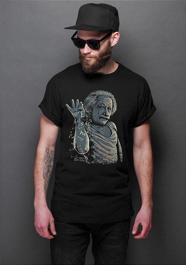 Camiseta Masculina  Einstein - Nerd e Geek - Presentes Criativos