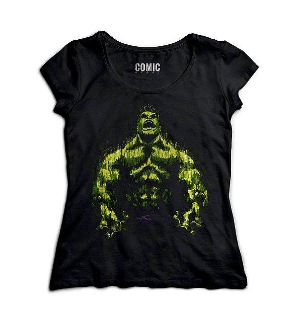 Camiseta Feminina  Hulk