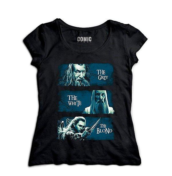 Camiseta Feminina  The Lord of Rings - Nerd e Geek - Presentes Criativos