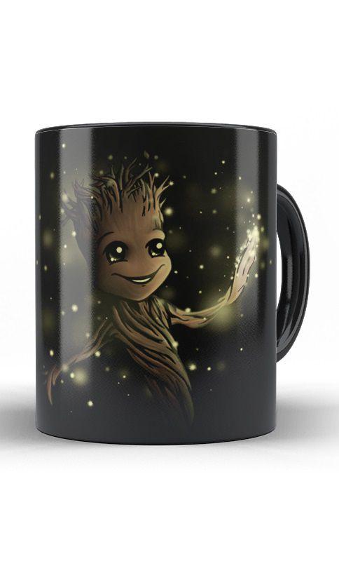 Caneca Guardiões da Galáxia - Groot