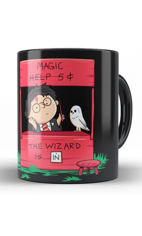 Caneca Harry Potter - Magic