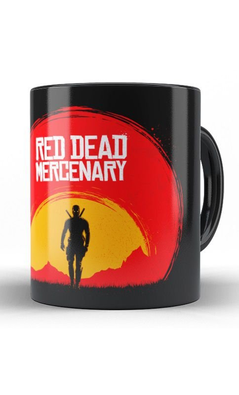 Caneca Deadpool Mercenary