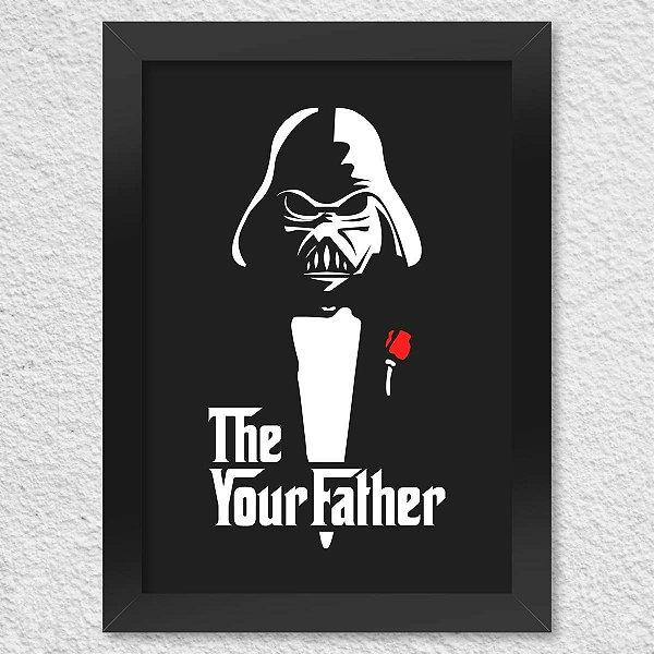 Poster com Moldura Geek Side - The Your Father Presentes Criativos